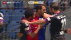 Video «Fussball: Super League, Basel-Vaduz» abspielen