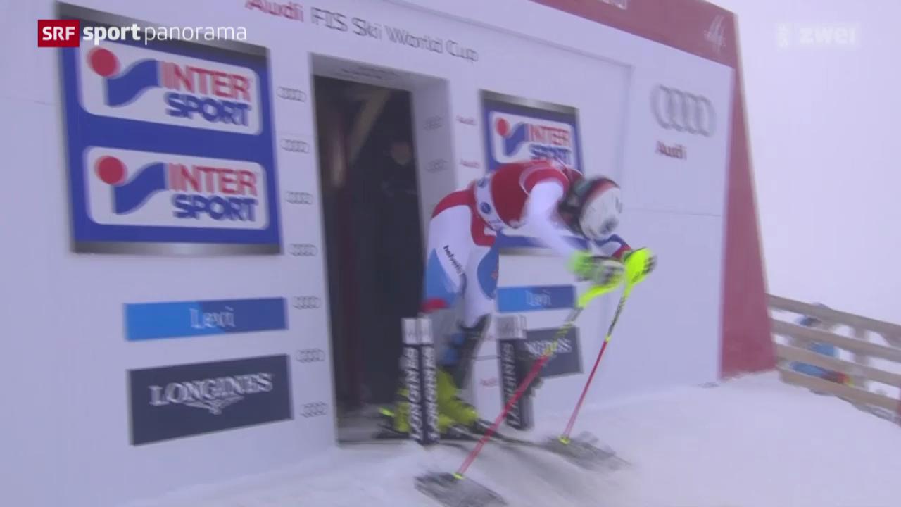 Ski alpin: Weltcup-Slalom der Männer in Levi