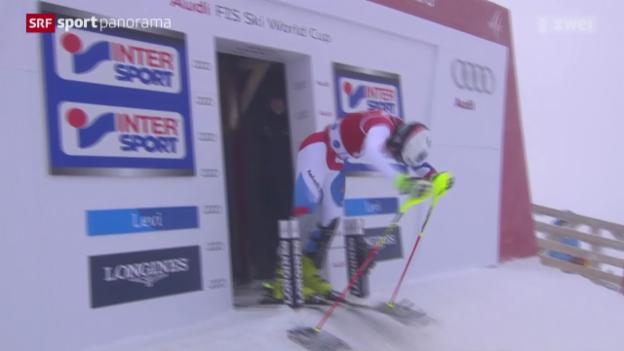 Video «Ski alpin: Weltcup-Slalom der Männer in Levi» abspielen