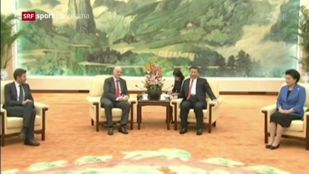 Video «China investiert in den Fussball» abspielen