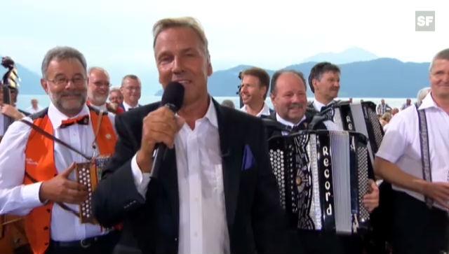 Kurt Zurfluhs Abschied: «Hopp de Bäse» vom 30. Juni 2012 (Ausschnitt)