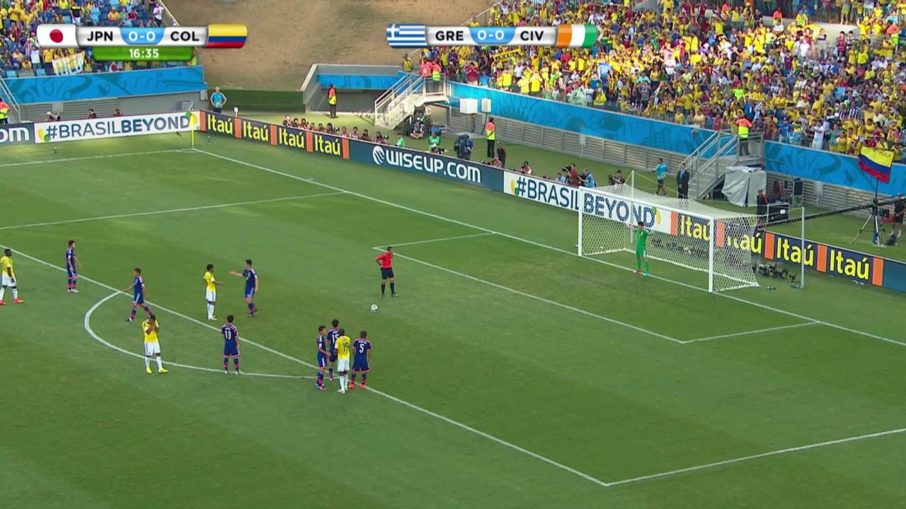 Fussball: Japan - Kolumbien: Die Live-Highlights