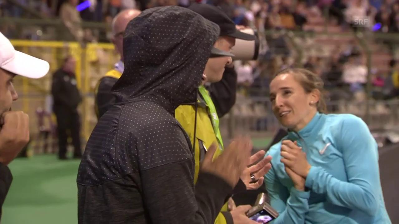 Stab: Stefanidi siegt, Büchler applaudiert
