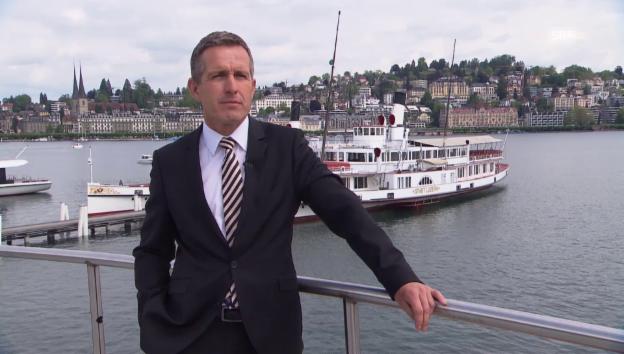 Video «Verbandspräsident Stefan Schulthess zur Schweizer Binnenschifffahrt» abspielen