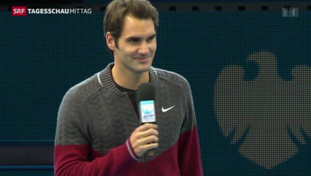 Video «Gesundheitszustand Federer» abspielen