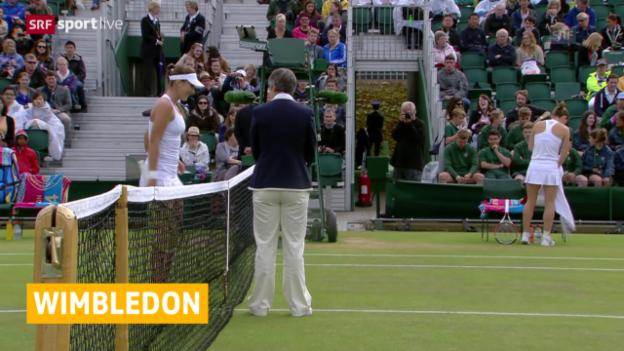 Video «Tennis: Wimbledon, Auslosung Frauen» abspielen