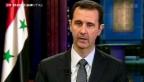 """Video «Assad """"nicht besorgt""""» abspielen"""