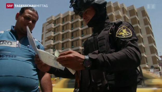 Video «Grosse Angst vor Bürgerkieg im Irak» abspielen