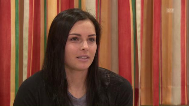 Video «Anna Veith gibt ihre Rückkehr bekannt» abspielen