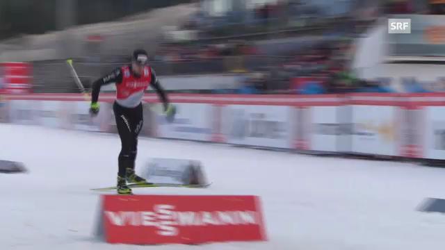 Tour de Ski: Zusammenfassung 1. Etappe
