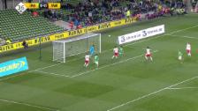 Video «Fussball: Live-Highlights Irland - Schweiz» abspielen
