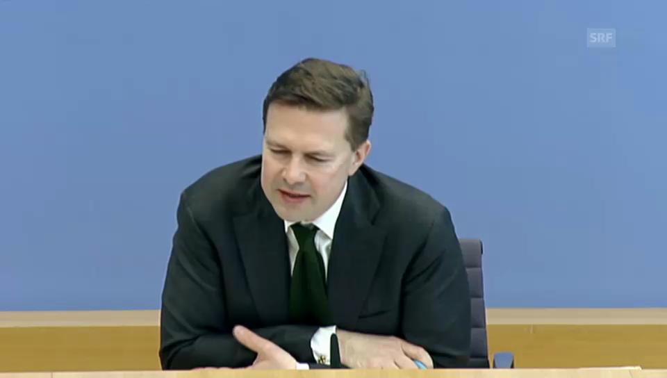 Deutscher Reg.-sprecher zum Ergebnis der Initiative