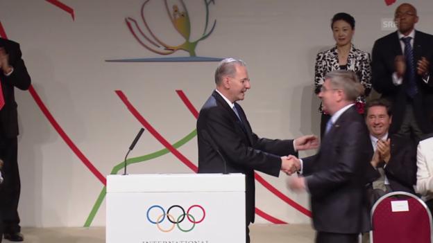 Video «Bach wird IOC-Präsident» abspielen
