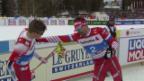 Video Erhitzte Gemüter nach dem Sprint-Halbfinal abspielen.