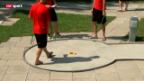 Video «Baseball: Serie zur EM in Zürich» abspielen