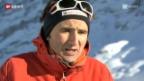 Video «Alpinismus – Spitzenbergsteiger Ueli Steck vor seinem schwierigsten Projekt» abspielen