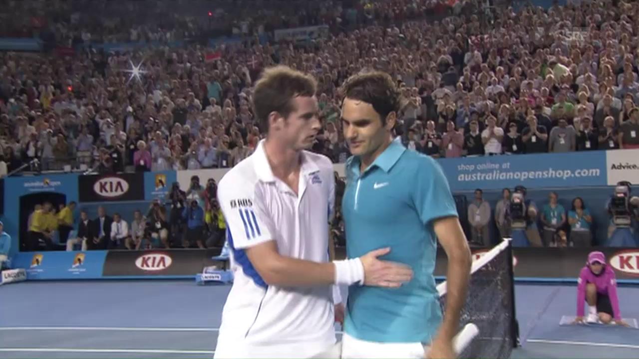2010: Federer schlägt Murray
