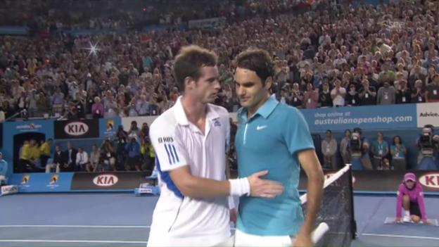 Video «2010: Federer schlägt Murray» abspielen