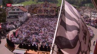 Video «Landsgemeinde Appenzell Innerrhoden» abspielen