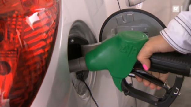 Video «Wer den Benzinpreis hoch treibt» abspielen