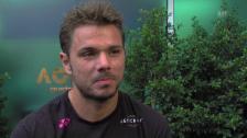 Video «Interview mit Stan Wawrinka» abspielen