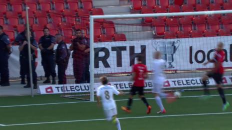 Video «Fussball : Schweizer Cup, Xamax – Luzern, 3:1 Luzern» abspielen