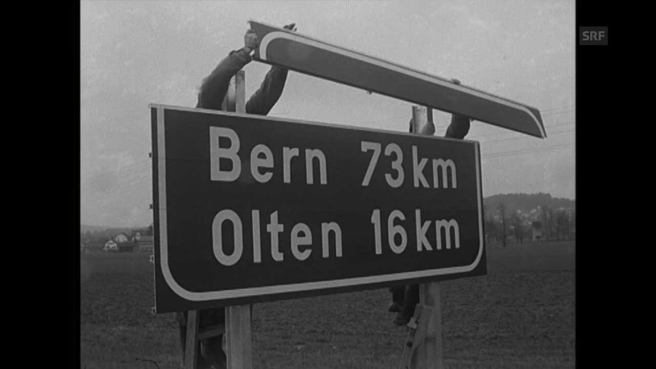 1967: Nationalstrasse Hunzenschwil-Oensingen (Antenne)