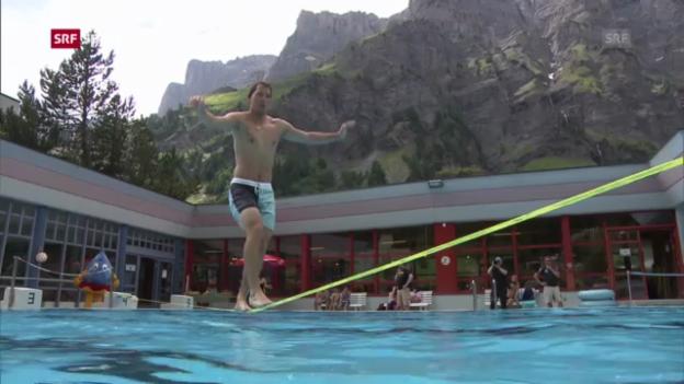Video «Die Schweizer Ski-Stars beim Sommertraining» abspielen