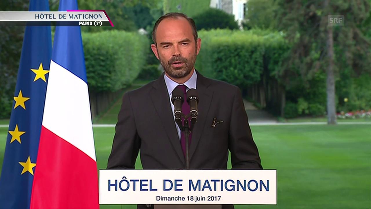 Edouard Philippe zum Wahlsieg