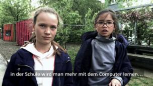 Video «Leda (9) und Rose (9) aus Zürich» abspielen