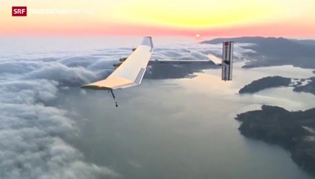 Video «Einmal um die Welt mit Sonnenenergie» abspielen