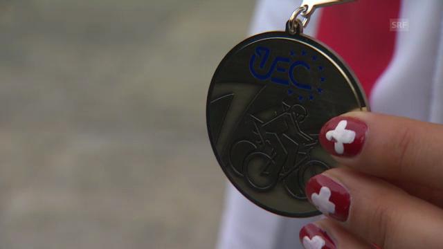 MTB-EM: Neff zur Staffel-Silbermedaille