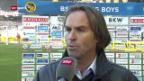 Video «Stimmen zu YB-St.Gallen («sportpanorama»)» abspielen