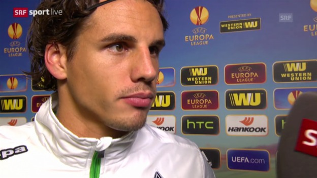 Video «Fussball: Europa League, Interview mit Yann Sommer» abspielen