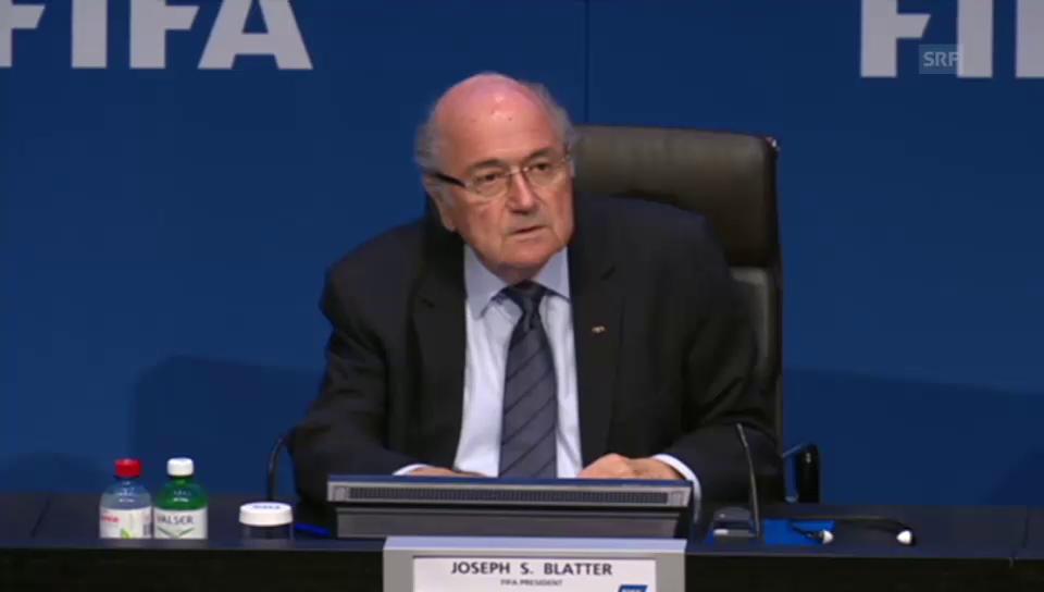 Blatters Rückblick auf den Kongress