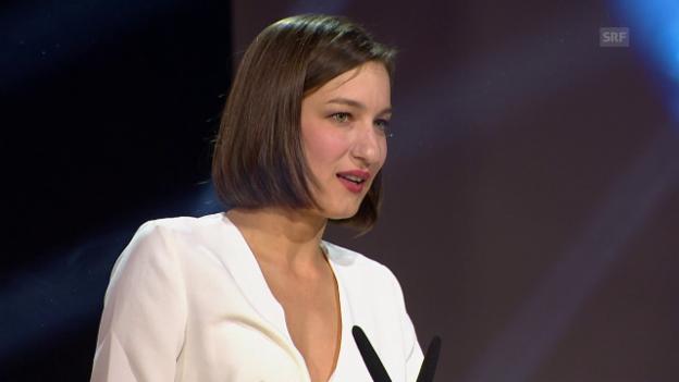 Video «Marie Leuenberger, beste Darstellerin» abspielen