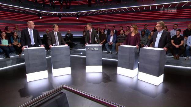 Video «Arena Spezial: Die Debatte» abspielen