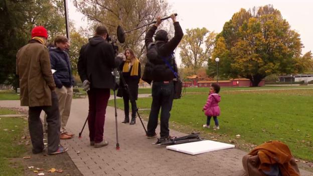 Video «Making-of: Versprecher & Lacher» abspielen