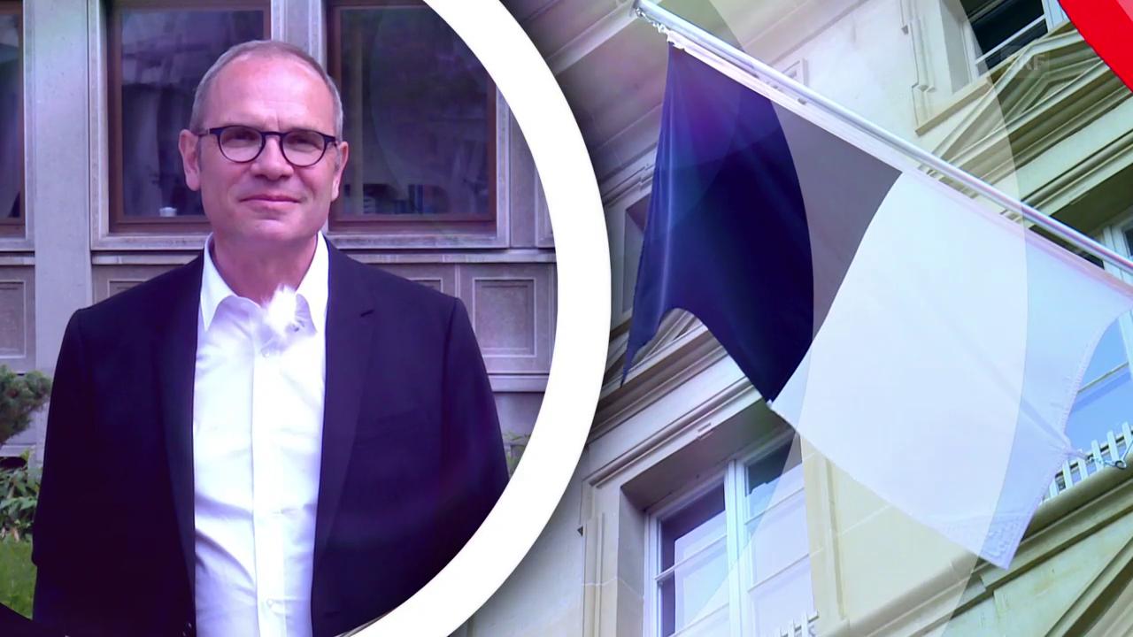 Gemeindepräsident Thierry Steiert zeigt sein Freiburg