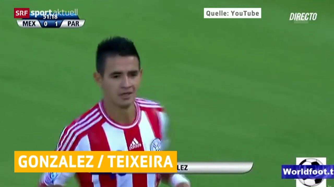 Fussball: Derlis Gonzalez zu Basel / Jorge Teixeira verlässt FC Zürich («sportaktuell»)