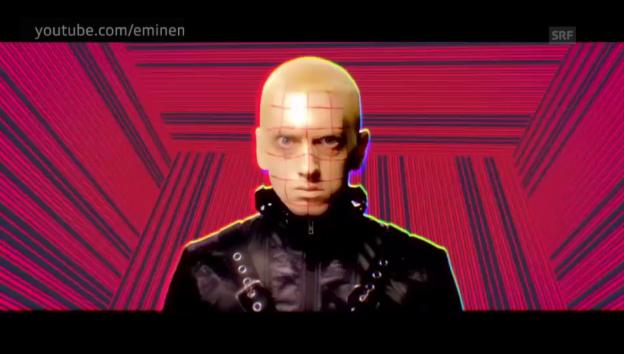 Video «Eminem mit «Rap God»» abspielen