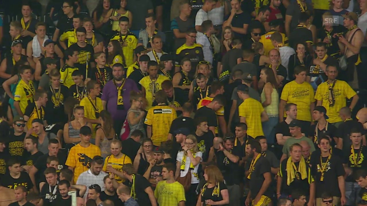 Fussball: Pfeifkonzert YB-Fans