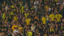 Video «Fussball: Pfeifkonzert YB-Fans» abspielen