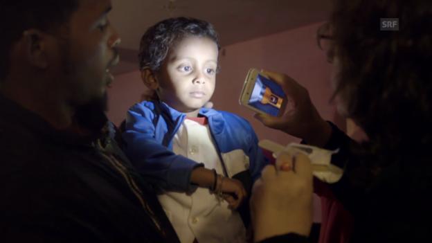 Video «Die medizinische Versorgung im «Palazzo Salam» ist prekär.» abspielen