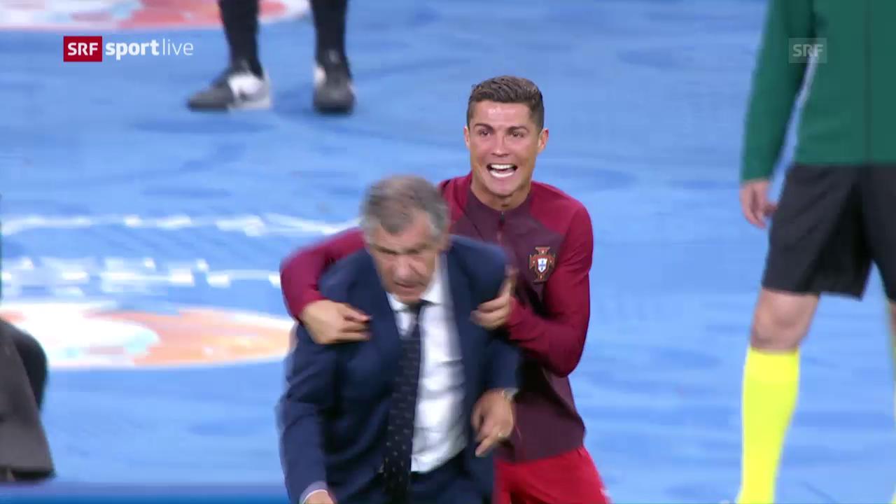 Wer ist der Trainer: Ronaldo oder Santos?