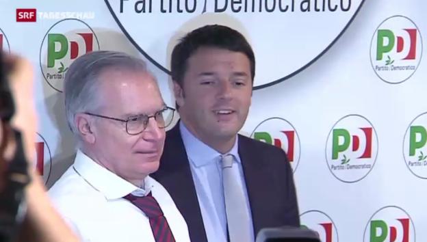 Video «Erfolg für Renzi» abspielen