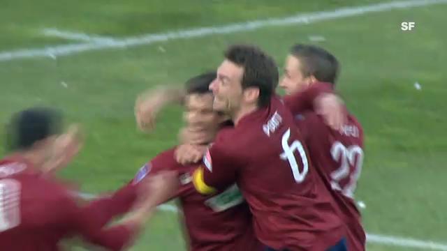 Fussball: Julian Estebans letzter Treffer in der Super League (11.3.2012)