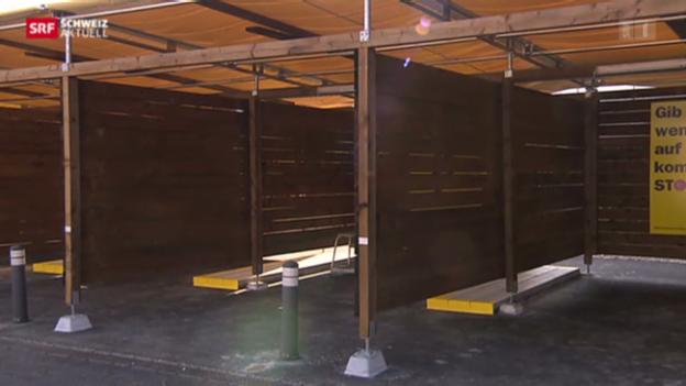 Video «Sexboxen vor der Eröffnung» abspielen