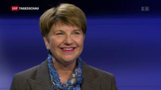 Video «Bundesratswahl: Die CVP-Favoritin hat gewonnen» abspielen