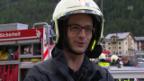 Video ««Heimweh»: Feuerwehrübung im Saastal» abspielen